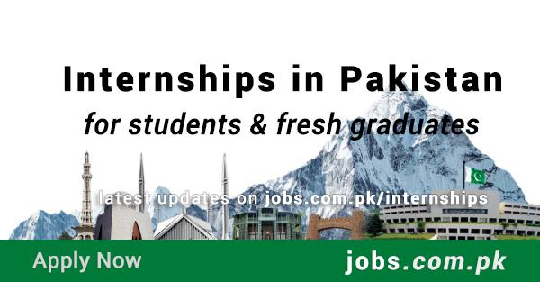 Internships in Pakistan 2019 | Latest Internships