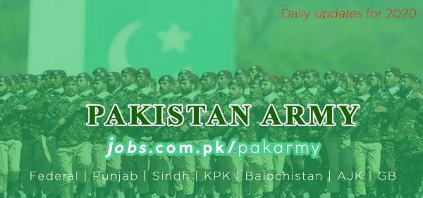 Join Pak Army - Pak Army Jobs 2021